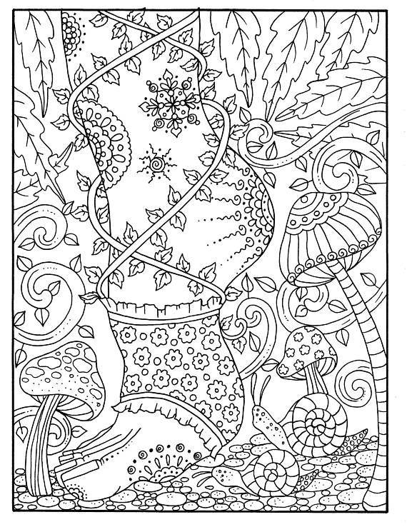 5 pages of Fairy Feet Instant download Digital/digi stamp/fairy ...