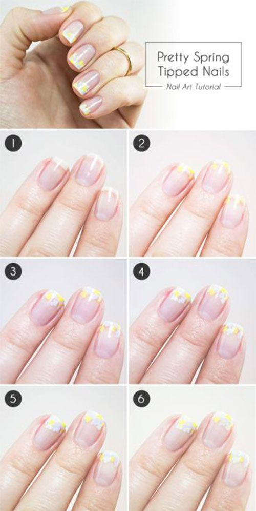 Spring Nail Art Tutorials For Beginners Learners Spring Summer