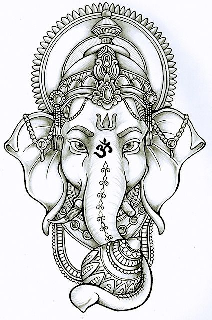 Ganesh Everywhere — Lord Ganesha | coloring pages | Pinterest ...