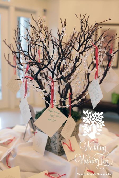 Wedding Wishing Tree-- best wishes for the bride and groom