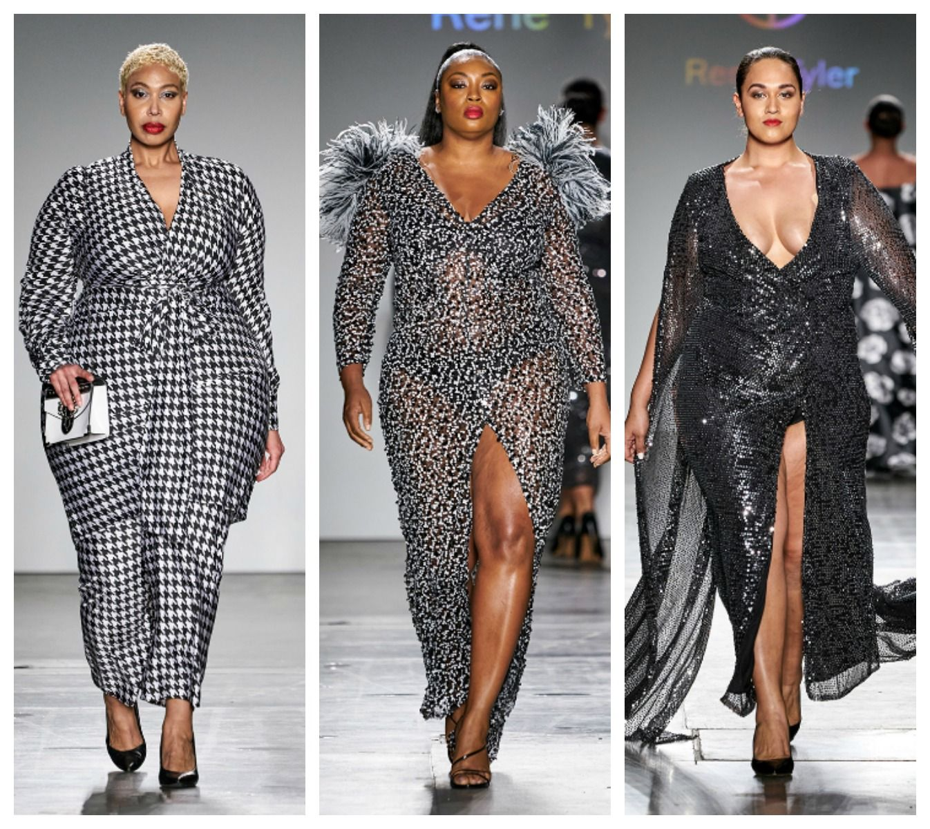 Plus Size Designer Rene Tyler Stole The Show At New York Fashion Week In 2020 Fashion Plus Size Fashion Plus Size Designers