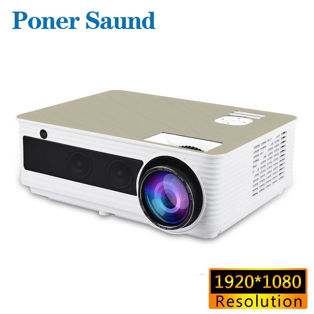 Poner Saund M5s Led Projector 1920x1080p Resolution Full Hd Android Projector 3d Hdmi Home Theater Led Proyector Bluetoo Projector Led Projector Best Projector
