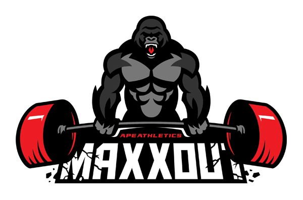 Ape Athletics On Behance Fitness Logo Design Fitness Logo Gym Design