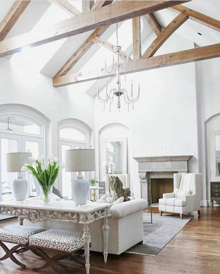 20 Bedroom Designs With Vaulted Ceilings: Pin By Defne On Interior Design