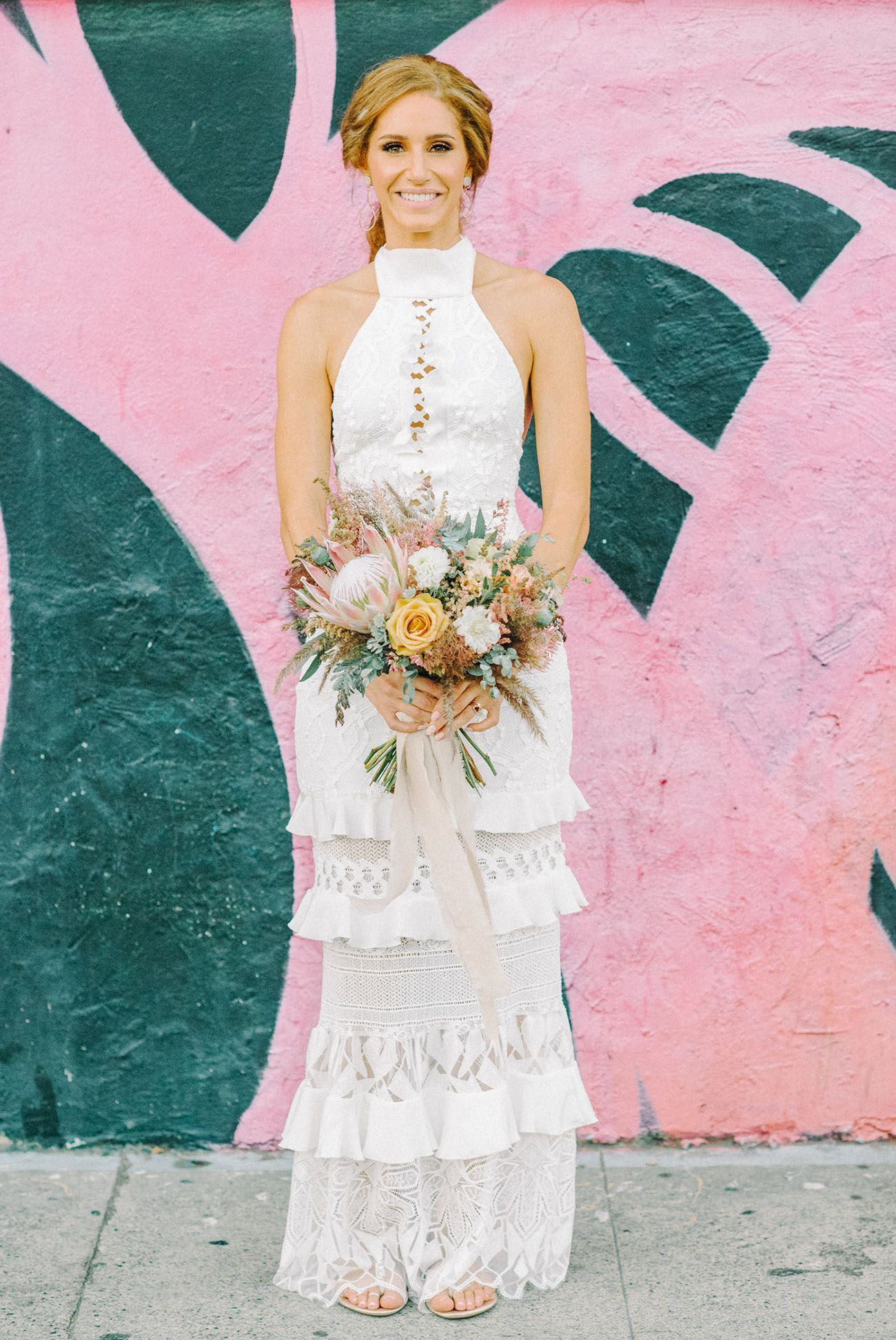 Dusty Pink and Marble Details Ruled This Bougie Boho-Inspired ...