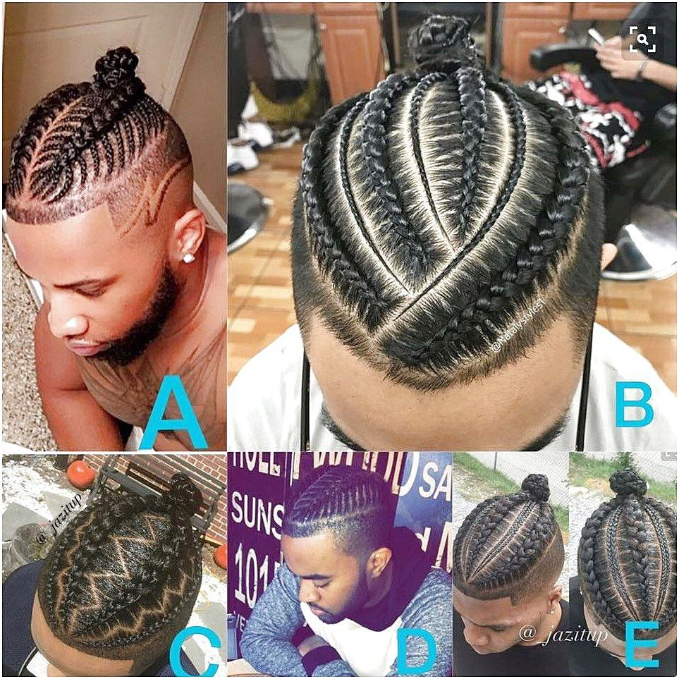 Man Bun Mediumhairbraiding Click Now To See More Hair Styles Boy Braids Hairstyles Mens Braids Hairstyles