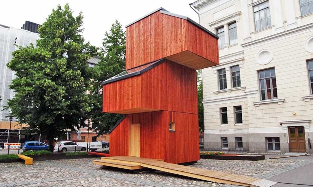 This Tiny Prefab Solution To Finland's Housing Shortage
