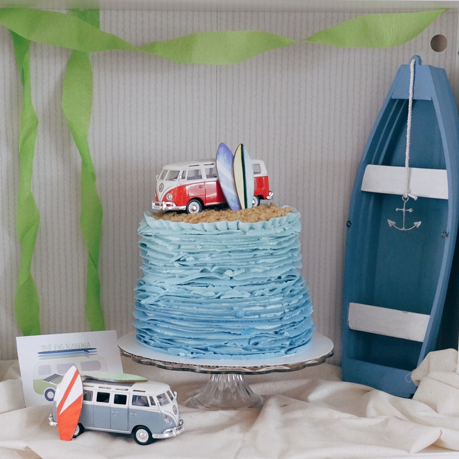 Aiden S First Birthday Party Surf Birthday Party Surf Birthday Party Themes For Boys
