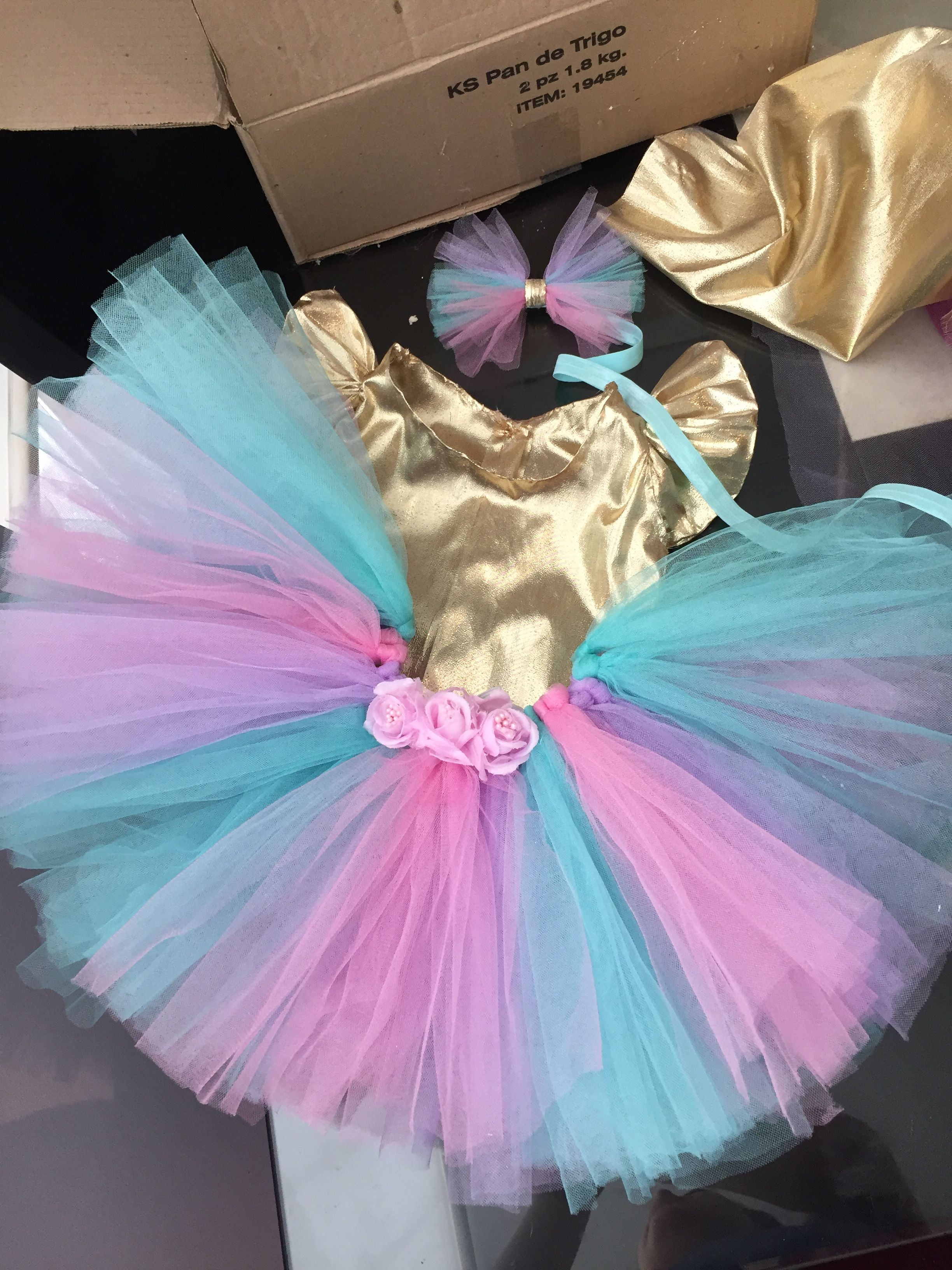 Great Colors For A Unicorn Tutu Love The Simple Gold Top