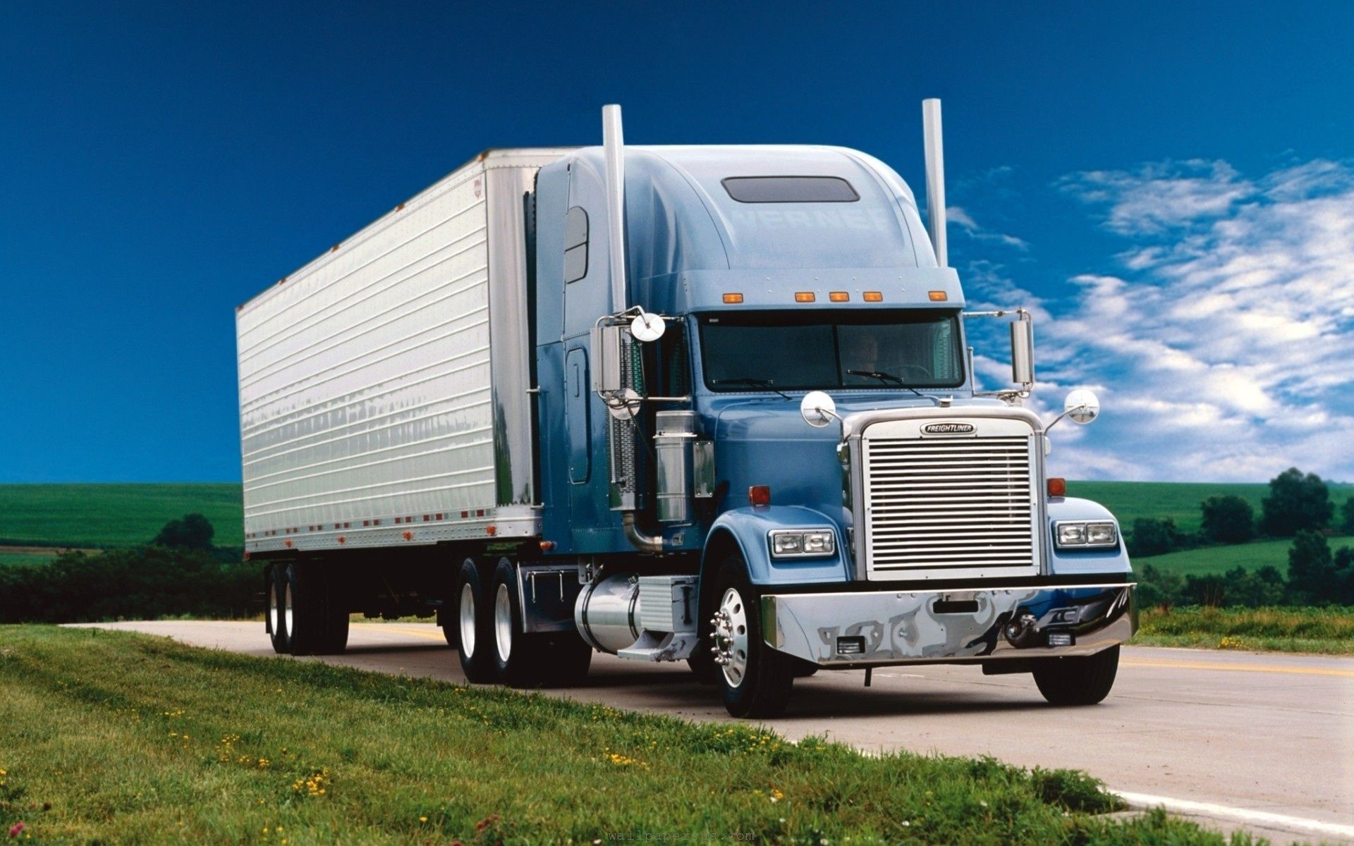 Truck On Road HD Wallpapers Moving long distance, Moving