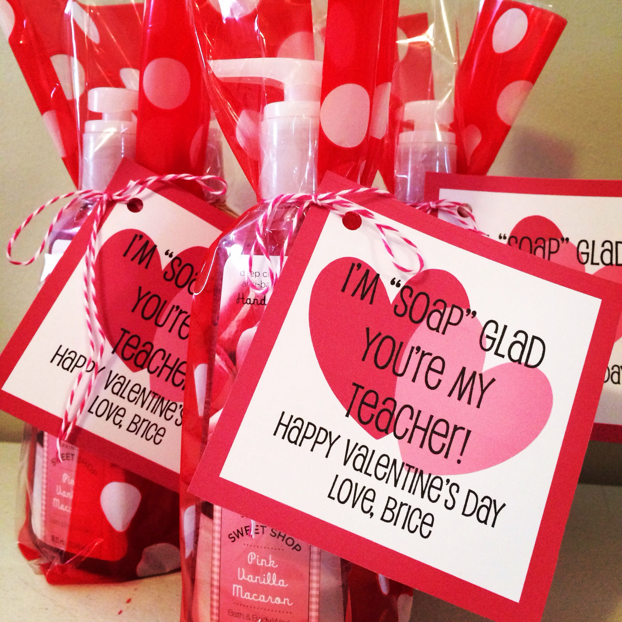 Teacher Gifts For Valentine S Day On Sale Soap From B Bw Packaged