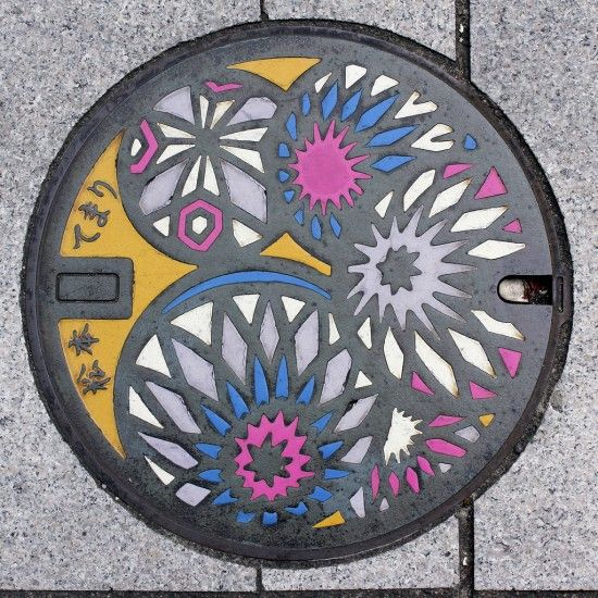 japan manhole covers and drains the us needs more of these so