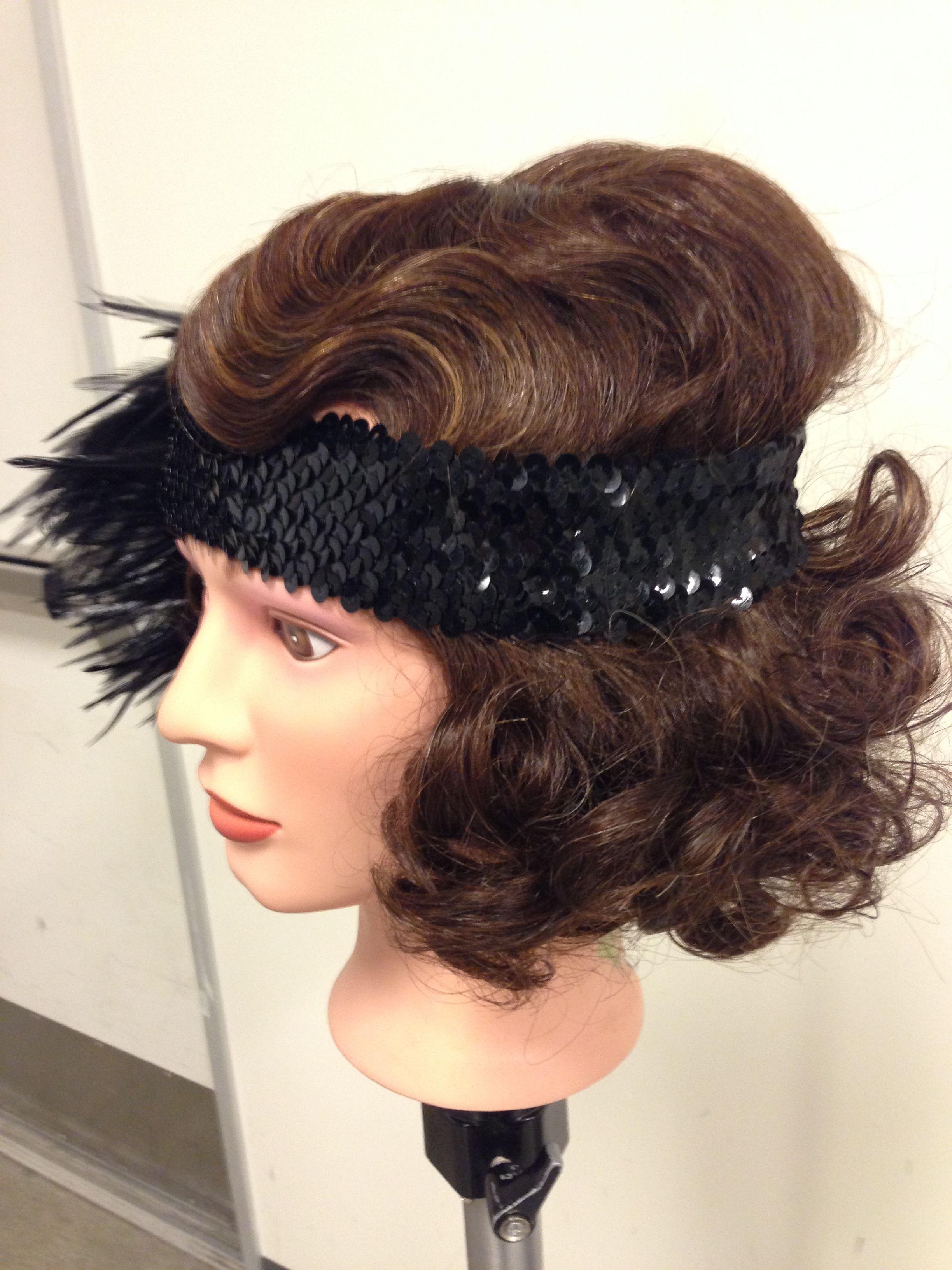 Strange Finger Waves And Pin Curls Laura Pfeifer Hair Work Portfolio Hairstyles For Men Maxibearus