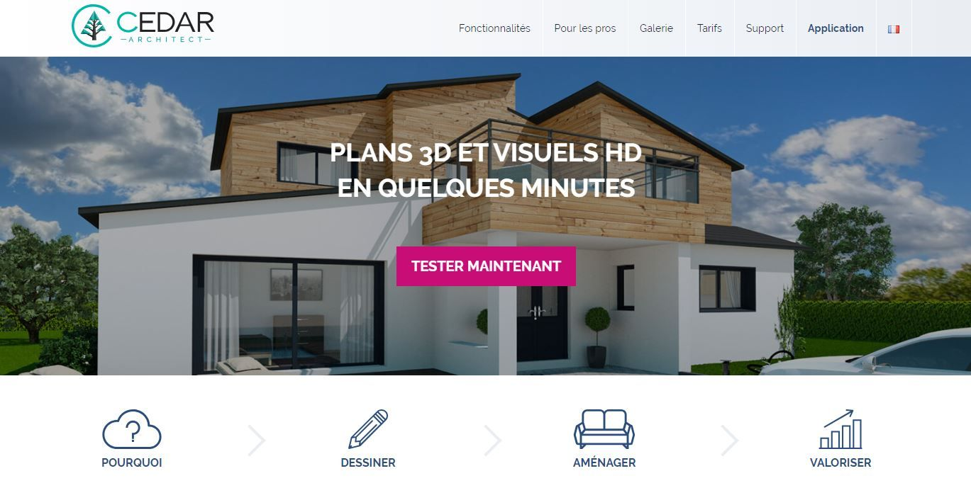 Application Maison 3d
