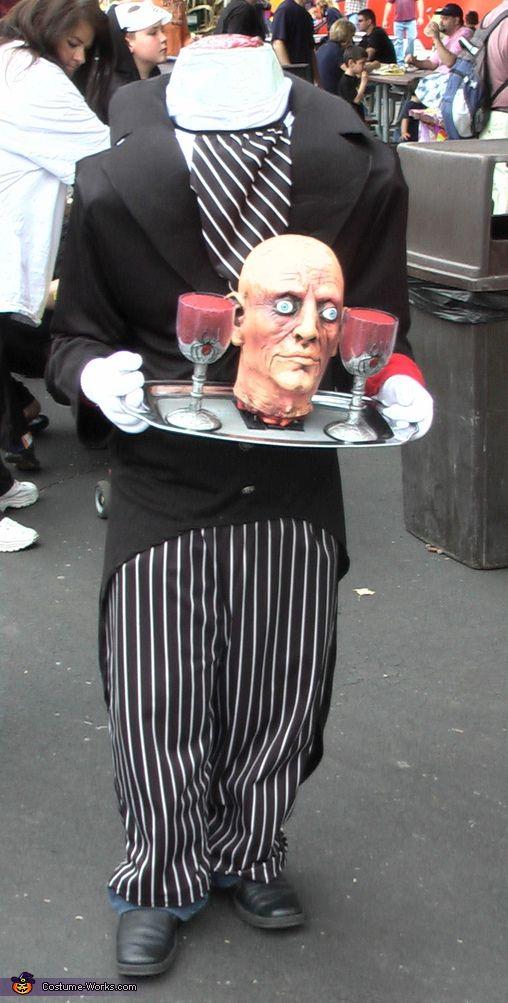 Headless Butler - Homemade costumes for kids  sc 1 st  Pinterest & Headless Butler - Halloween Costume Contest at Costume-Works.com ...