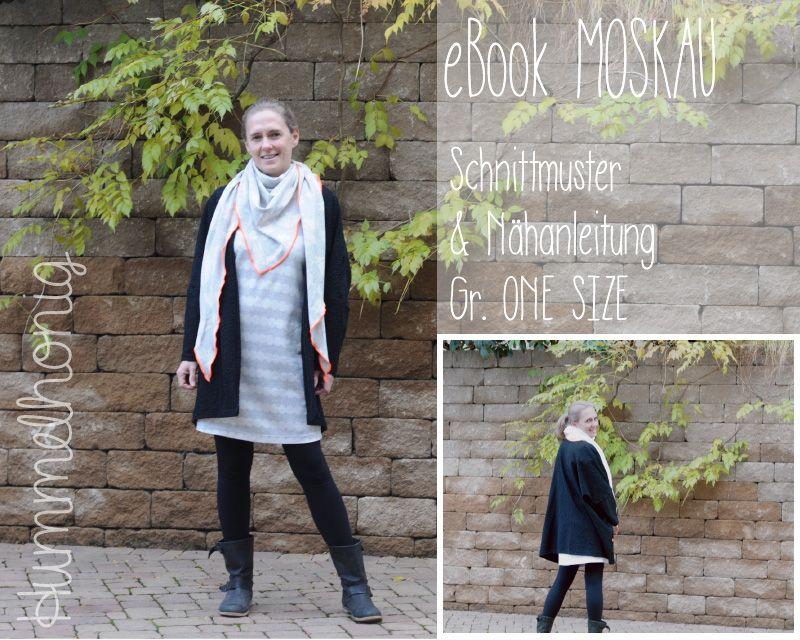 Ebook Cardigan Moskau One Size (Gr.34-46)