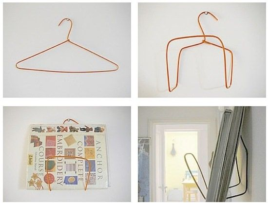 17 Decorative Clothes Hanger And Hook Tutorials Diy Magazine