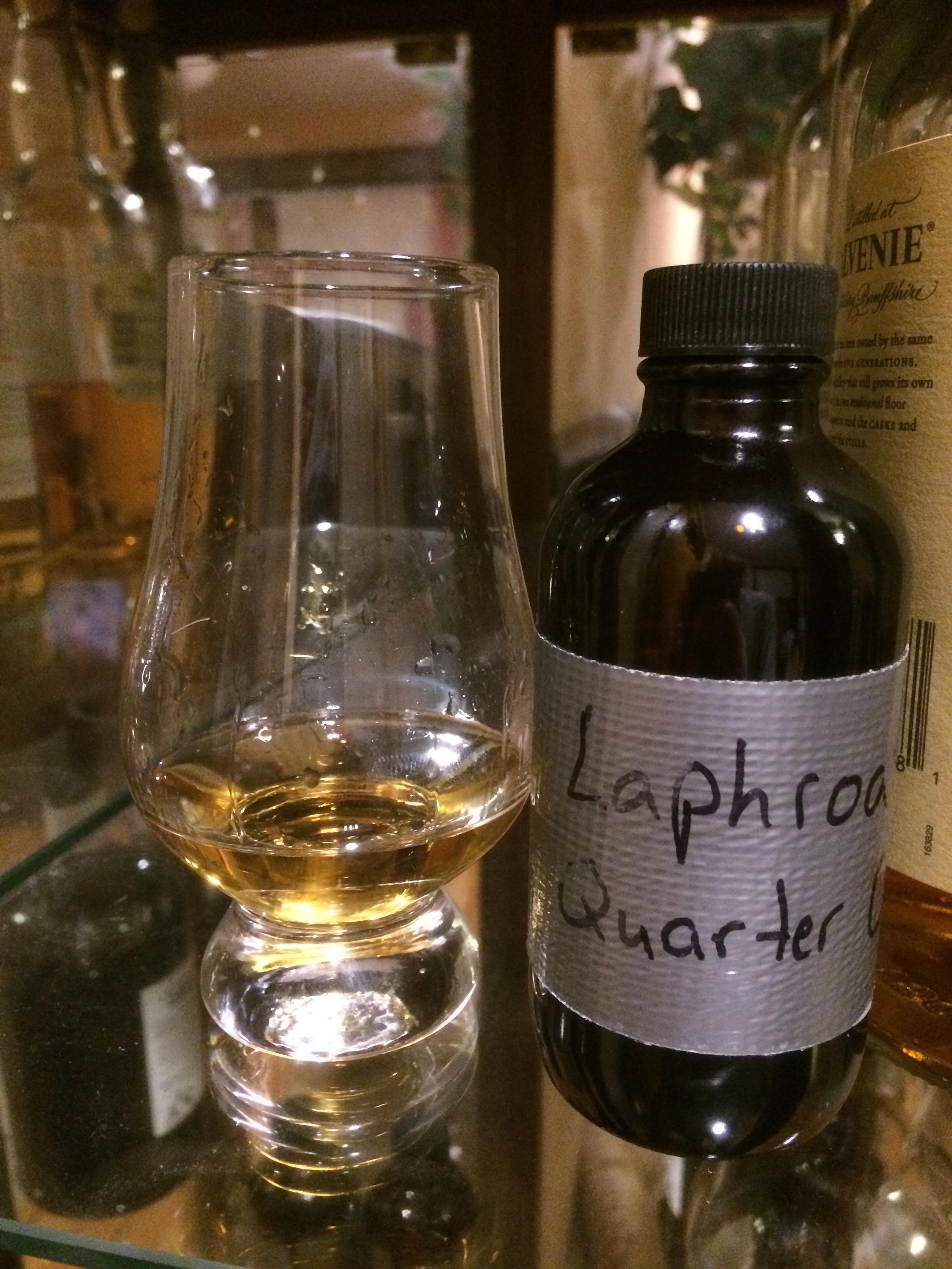 Laphroaig Quarter Cask (Review 28) #scotch #whisky #whiskey #malt #singlemalt #Scotland #cigars