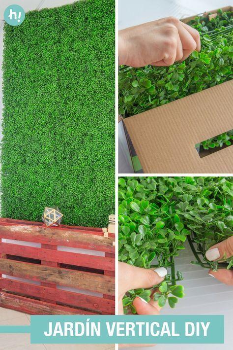 Comment transformer le mur avec un jardin vertical en - Comment faire un jardin vertical ...