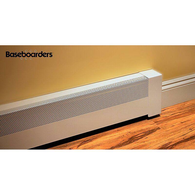 Basic Series Galvanized Steel Easy Slip On Baseboard Heater Cover In 2020 Baseboard Heater Baseboard Heater Covers Heater Cover