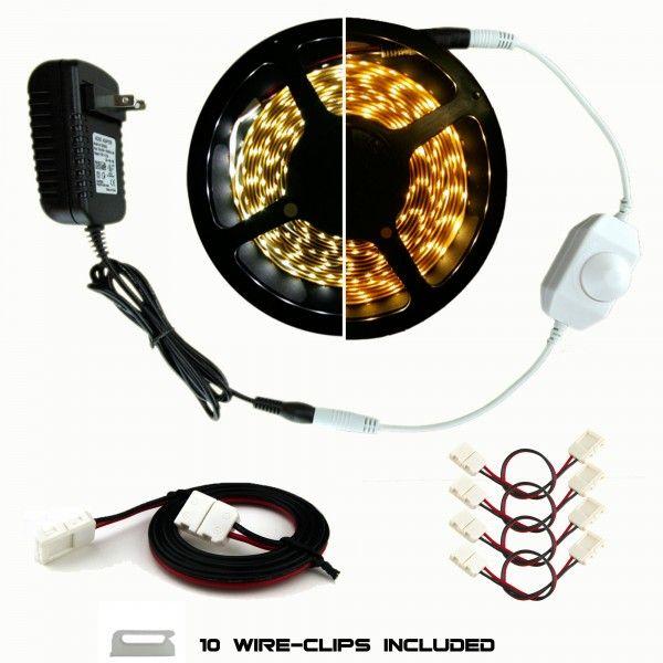 Under Kitchen Cabinet Luma5 Series Led Light Strip Kits Smd 3528 Led Tape Lighting Strip Lighting Tape Lights