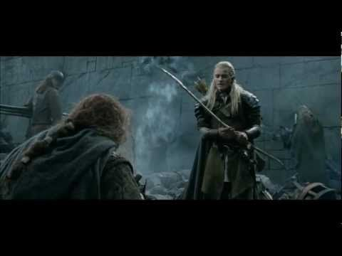 """""""Legolas: Final count, forty-two. Gimli: Forty-two? Oh ..."""