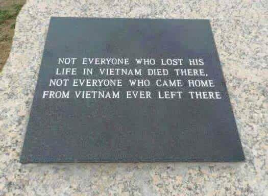 Not everyone who lost his life in Vietnam died there