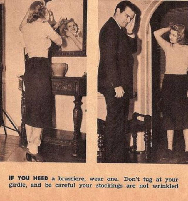 13 hilarious and sexist dating tips 1938