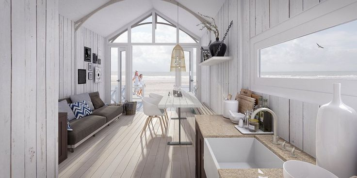 Innen Strandhaus Kijkduin #strandhuis Innen Strandhaus Kijkduin - #Beach ....   - Strandhausd... #strandhuis