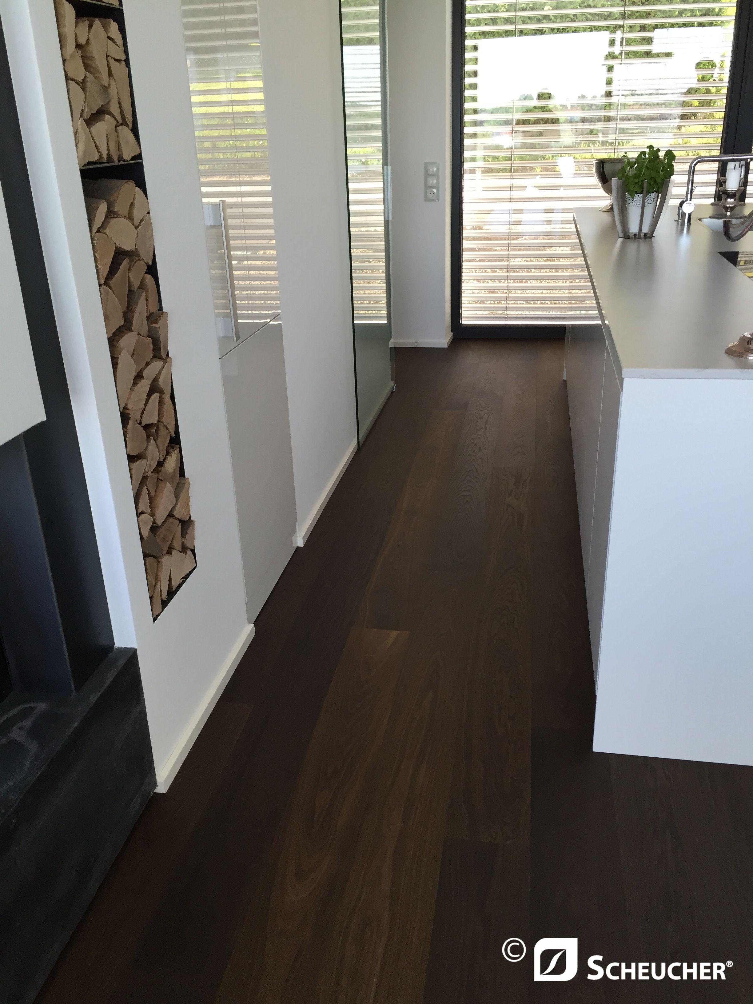 Holzboden In Der Küche parkett landhausdiele eiche kerngeräuchert natur oak smoked natur