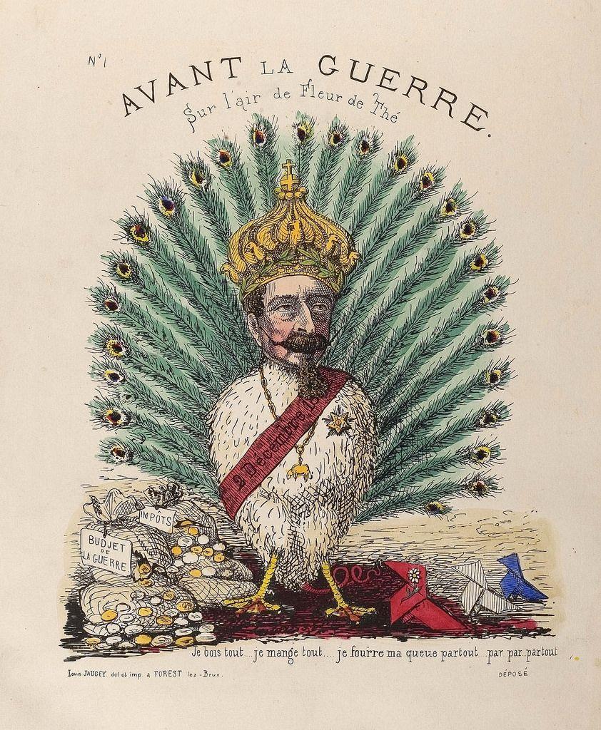 https://flic.kr/p/8afPe7 | Avant la Guerre | See: bibliodyssey.blogspot.com/2010/06/1870s-caricatures.html