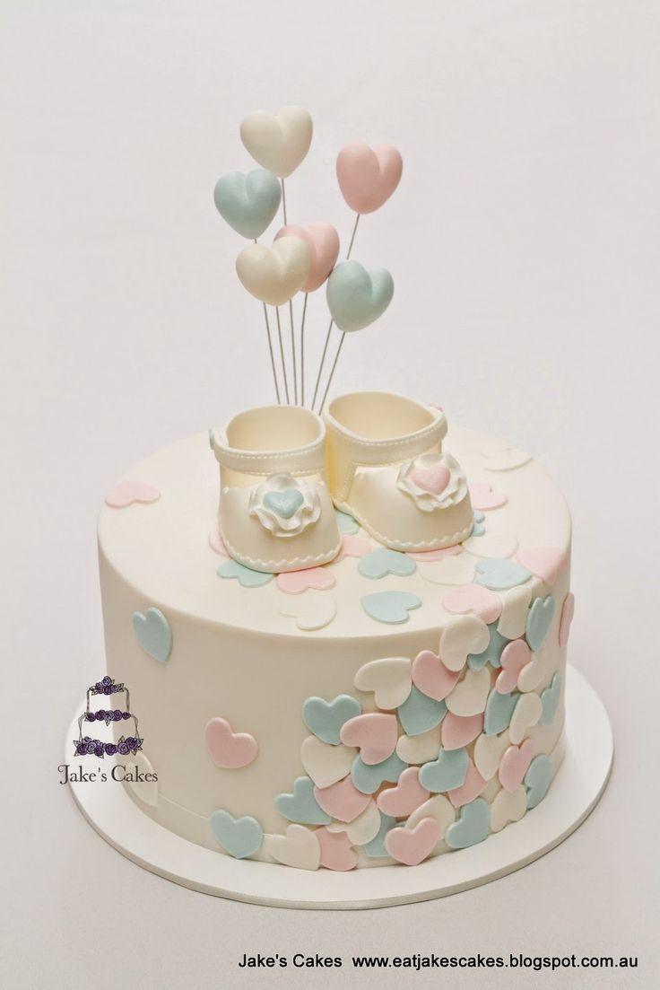 Baby Shower Cake For Boys Or Girls Adorable Gender Neutral Cake