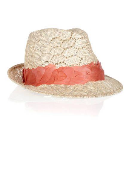 Eugenia Kim feather-embellished fedora Sombreros Y Tocados 2aadf6a33aa