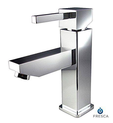 Bathroom Faucets Diy Fresca Bath Fft1030ch Bevera Single Hole