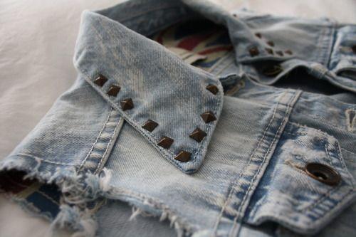 Volcone: Coletes Jeans:
