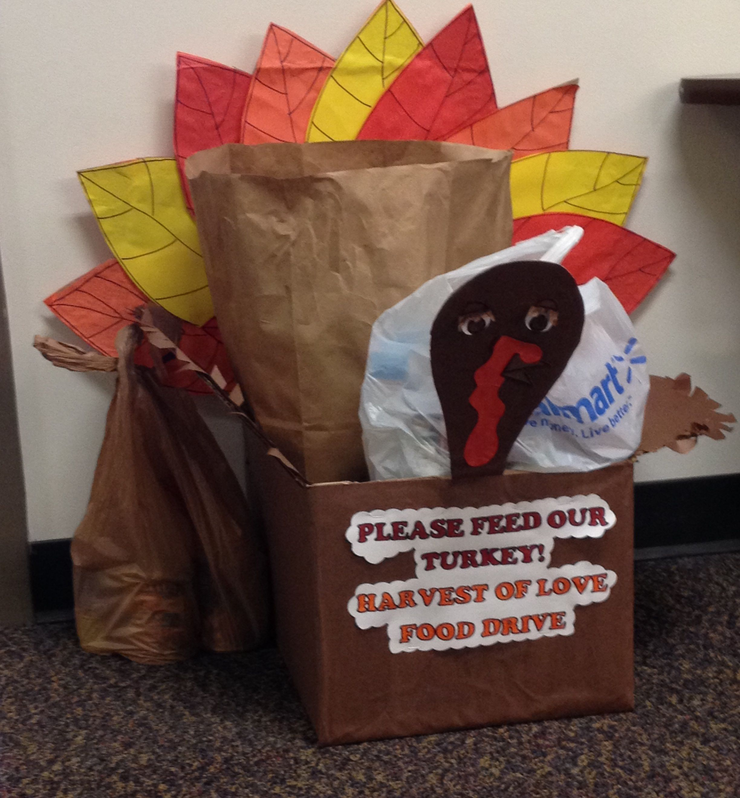 Winner 2013 ) Thanksgiving decorations, Food donation