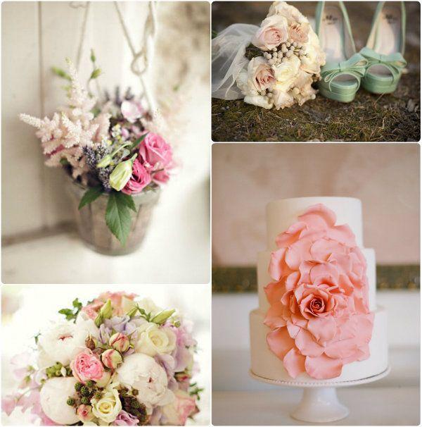 pink Vintage Rose Hochzeit Dekoration pink  hochzeit