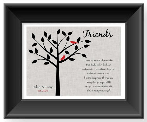 Wedding Gift Ideas For Best Friend Girl: Personalized Gift For A Special Friend