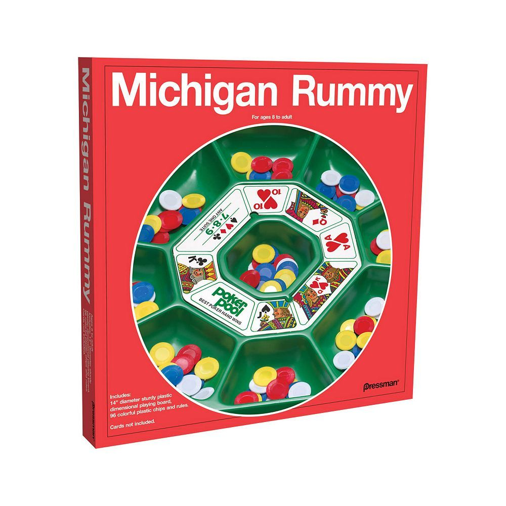 Michigan Rummy Game By Pressman Toy Products Pinterest Juegos