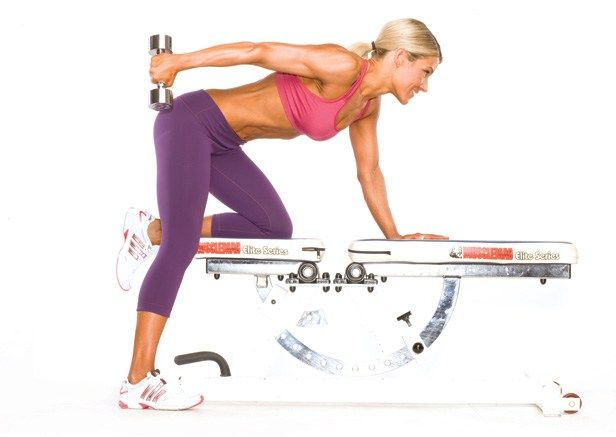 Save Time and Blast Fat with Supersets: The best way to burn calories without burning time is as close as the nearest set of dumbbells.