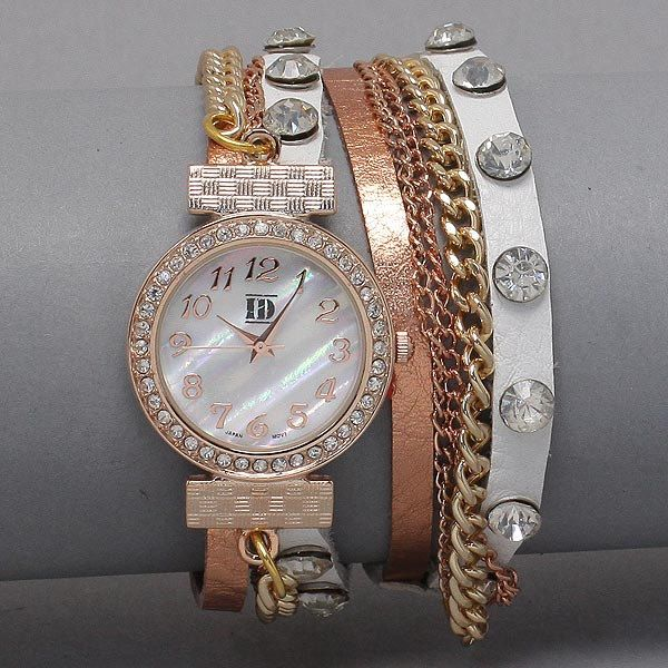 Another great Pinterest accessory.  How cute is this watch??