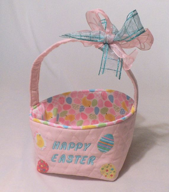 Creative fabric easter basket gift ideas creative easter basket creative fabric easter basket gift ideas negle Image collections