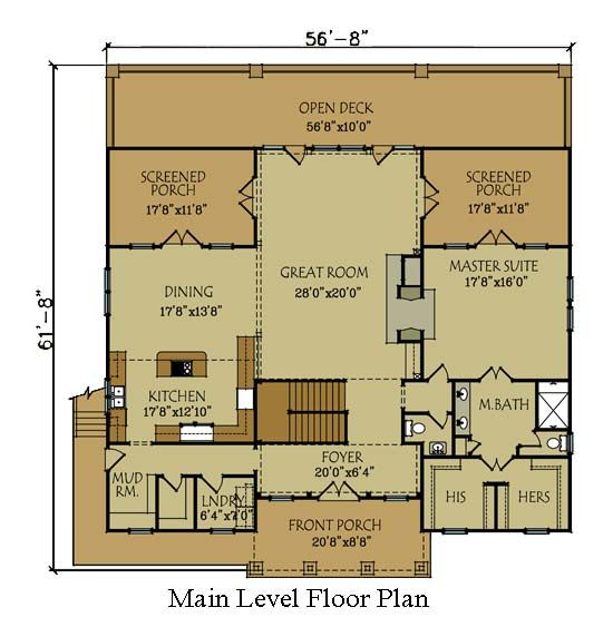 timber floor plan