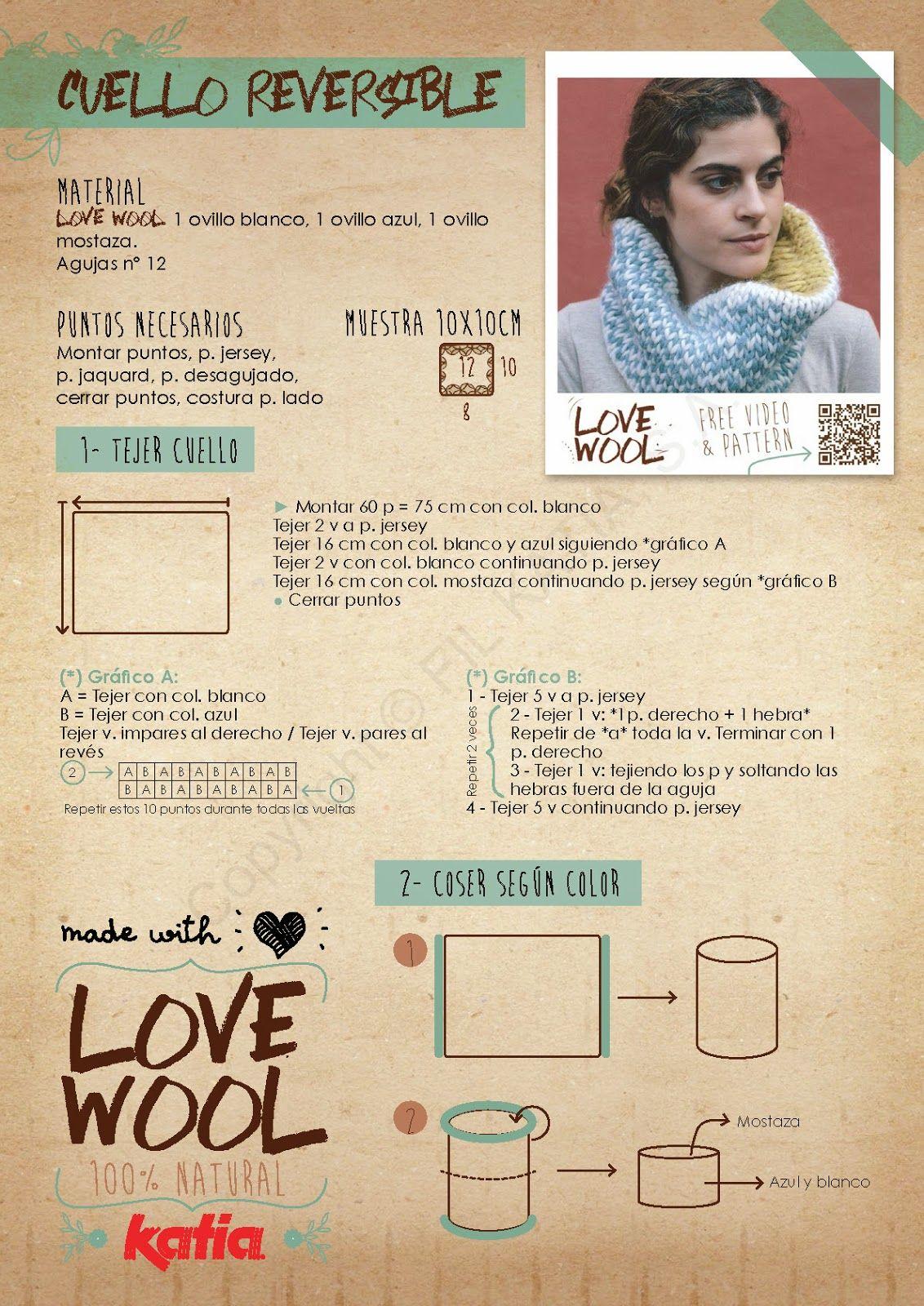 Kubaloo: LOVE WOOL by KATIA - Capítulo 1 | KUBALOO | Pinterest ...