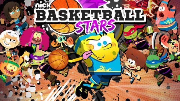 Nickelodeon Basketball Stars Online Games For Kids Basketball Star Funny Games