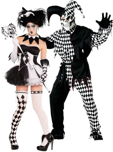 Black And White Trickster Couples Costumes Party City Couples Costumes Party City Costumes Couple Halloween Costumes