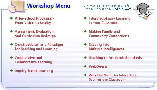 Concept To Classroom A Series Of Free Workshops That Delve Into