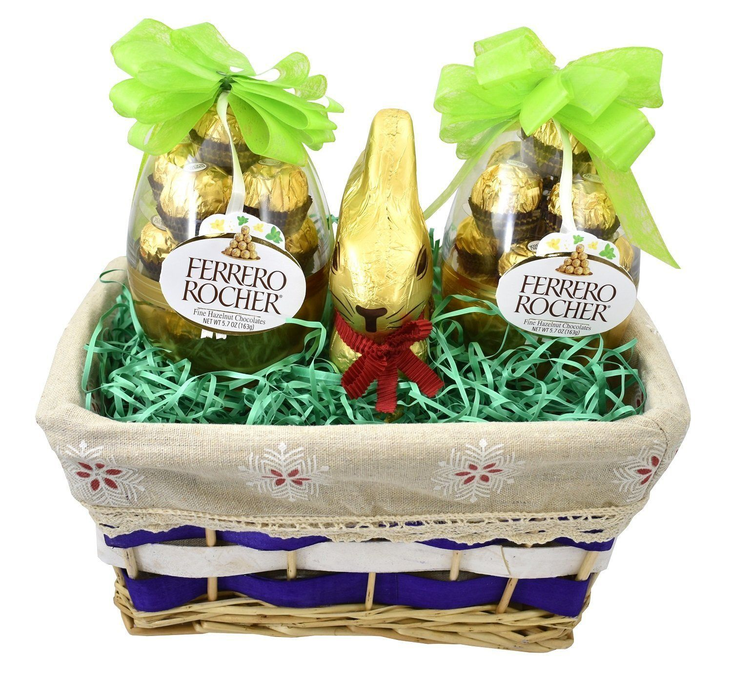 Gift universe easter gift basket with ferrero rochers easter egg and gift universe easter gift basket with ferrero rochers easter egg and lindt easter gold bunny 7 negle Gallery