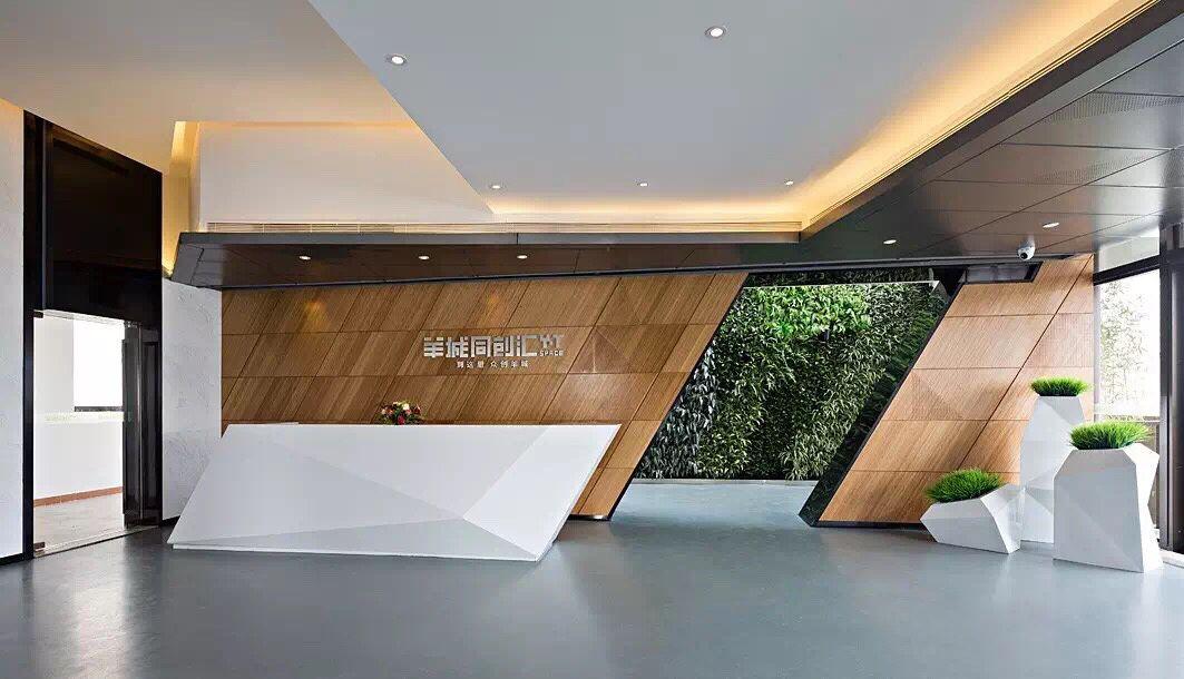 Corporate Office Lobby Interior Design