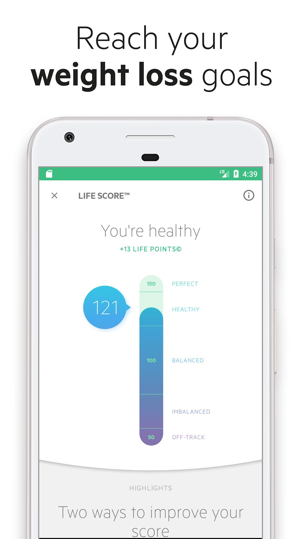 Kuvakaappaus Inspiration app, Nutrition app, Tracking app